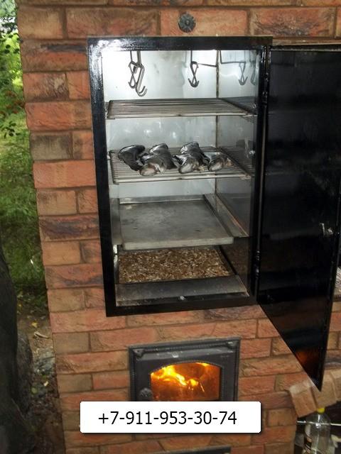 Домашние печь-коптильня-мангал своими руками