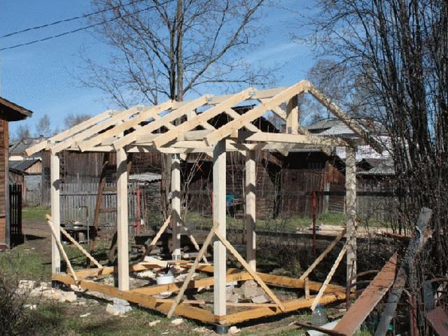 Устройство крыши для беседки своими руками фото 86