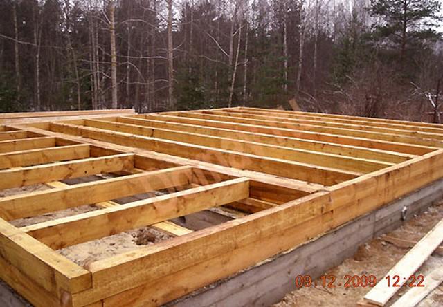 Строительство бани из бруса своими руками на фундаменте
