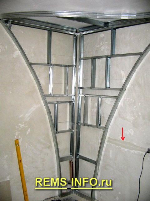Сделать стенку из гипсокартона своими руками